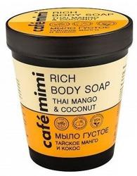 Le Cafe Mimi Rich Body Soap Mydło do ciała Mango&Kokos 220ml