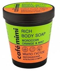 Le Cafe Mimi Rich Body Soap Mydło do ciała Pomarańcza&mięta 220ml