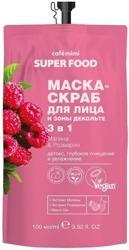 Le Cafe Mimi Super Food Maska-peeling do twarzy i dekoltu 100ml