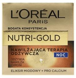 Loreal Nutri-Gold Nawilżająca terapia odżywcza na noc 50ml