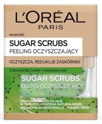 Loreal Sugar Scrubs Peeling oczyszczający Nasiona kiwi 50ml