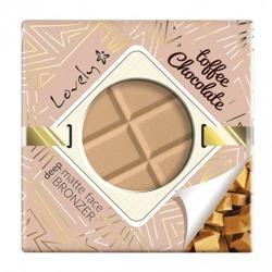 Lovely Toffee Chocolate matte face bronzer Matowy bronzer do twarzy 9g