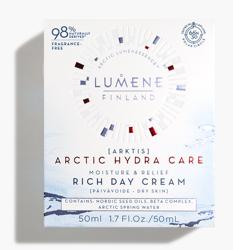 Lumene ARCTIC Hydra Care Nawilżająco-łagodzący bogaty krem na dzień 50ml