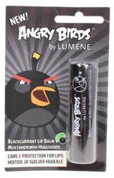 Lumene Angry Birds, Blackcurrant Lip Balm, Ochronna pomadka do ust, Czarna porzeczka, 4.5g