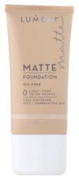 Lumene Matte Control Oil-Free Foundation - Podkład matujący 0 Light Ivory, 30 ml