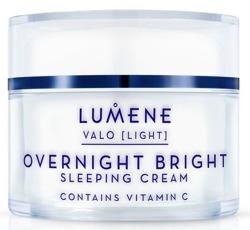Lumene Valo Overnight Bright Vitamin C Sleeping Cream - Krem na noc z witaminą C do każdego rodzaju skóry 50ml [LVS]