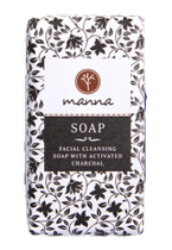 MANNA mydło w kostce Charcoal 90g