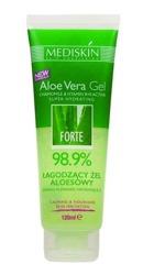 MEDISKIN Aloe Vera Gel Naturalny łagodzący żel aloesowy 98,9% 120ml