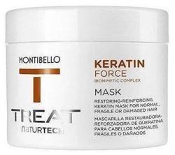 MONTIBELLO TREAT Naturtech Keratin Mask Maska do włosów zniszczonych 200ml
