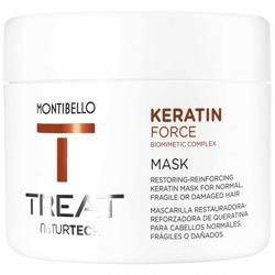 MONTIBELLO TREAT Naturtech Keratin Mask Maska do włosów zniszczonych 500ml