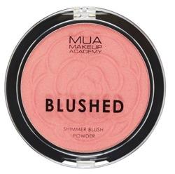 MUA Blusher Powder Shimmer Rozświetlający róż do policzków PINK CHAMPAGNE 6g