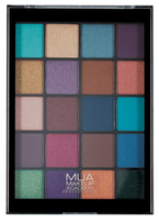 MUA Eyeshadow Palette Paleta 20 cieni do powiek PEACOCK PLUMAGE