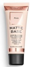 Makeup Revolution Matte Base Foundation Podkład matujący F0,5 28ml