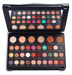 Makeup Revolution SHOOK! Eyeshadow Palette Paleta 36 cieni do powiek