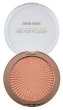 Makeup Revolution Skin Kiss Peach Kiss Highlighter Rozświetlacz do twarzy 14g