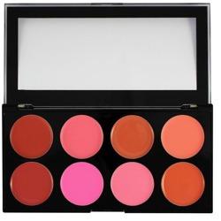 Makeup Revolution Ultra Blush Palette - Paleta kremowych róży do policzków Blush Melts 13 g