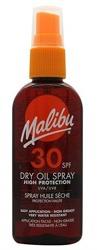 Malibu 30SPF Dry Oil Spray Medium Protection Suchy olejek do opalania 100ml