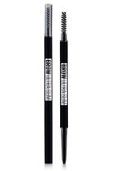 Maybelline Brow Ultra Slim pencil BLACK Czarna kredka do brwi