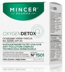 Mincer Pharma OxygenDetox Ochronny krem-tarcza N1501 50ml