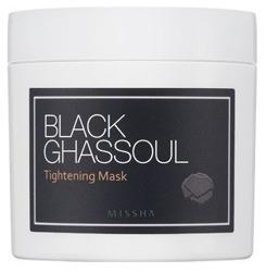 Missha Black Ghassoul Tightening Mask Maska zwężająca rozszerzone pory 95g