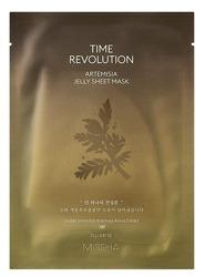 Missha Time Revolution Artemisia Jelly Mask Nawilżająco-kojąca maska w płachcie 23g