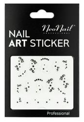 NEONAIL Naklejki na paznokcie Black&white  2804-16