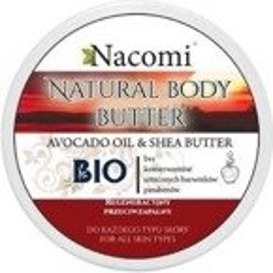 Nacomi Naturalny balsam do ciała z masłem Shea i olejem avocado Intensywna regeneracja 200ml