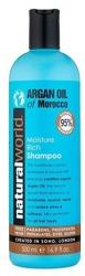 Natural World Argan Oil of Morocco Shampoo Nawilżający szampon z olejkiem arganowy do włosów 500ml