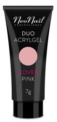 Neonail Duo Acrylgel Cover Pink Żel do budowania i przedłużania paznokci 7g