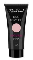 Neonail Duo Acrylgel Natural Pink Żel do budowania i przedłużania paznokci 7g