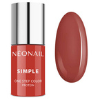 Neonail Simple One Step Color lakier hybrydowy 8072-7 CLEVER 7,2g