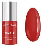 Neonail Simple One Step Color lakier hybrydowy PASSIONATE 7835-7