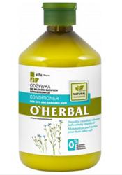 O'Herbal Odżywka do włosów suchych i zniszczonych z ekstraktem z lnu 500ml