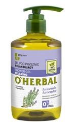 O'Herbal Relaksujący żel pod prysznic z ekstraktem z lawendy 750ml