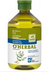 O'Herbal Szampon do włosów przetłuszczających się z ekstraktem z mięty 500ml