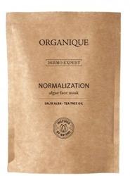 ORGANIQUE Dermo Expert Normalizująca maska algowa z olejkiem z drzewa herbacianego i ekstraktem z wierzby białej 30g