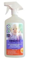 Organic People Spray do czyszczenia luster cytryna i pomarańcza 500ml