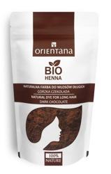 Orientana Bio henna do włosów gorzka czekolada 50g