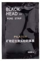 Pilaten Black Head Pore Strip - Czarna maska Saszetka 6g