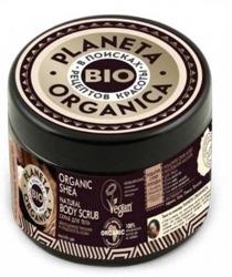 Planeta Organica BIO peeling do ciała Shea Butter 300ml