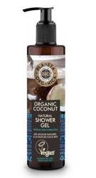 Planeta Organica BIO żel pod prysznic Coconut Oil 280ml