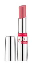 Pupa Miss Pupa Ultra Brilliant Lipstick – Pomadka do ust nadająca blask 102 Candy Nude 2,4 ml