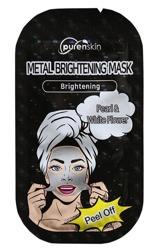 PurenSkin Metal Brightening Mask Rozjaśniająca maska w płachcie 10g