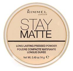 RIMMEL Stay Matte Pressed Powder Puder matujący prasowany 001 Transparent 14 g