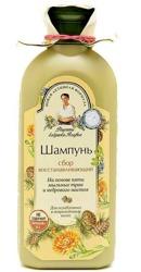 Receptury Babuszki Agafii Odbudowujący szampon do włosów osłabionych i zniszczonych 350ml