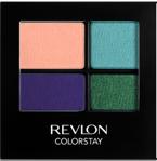 Revlon Colorstay 16 Hour Eye Shadow - Poczwórne cienie do powiek Sea Mist 585
