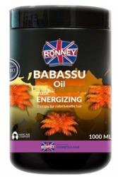 Ronney BABASSU Oil Energizing Mask Maska do włosów farbowanych i matowych 1000ml