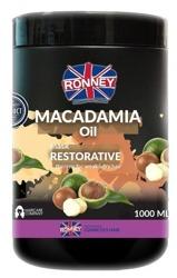 Ronney MACADAMIA Oil Restorative Mask Maska do słabych i suchych włosów 1000ml