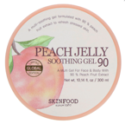 SKINFOOD Peach Jelly soothing gel 90% Wielofunkcyjny żel z ekstraktem z brzoskwiń 300ml
