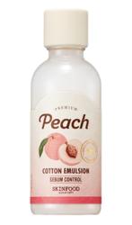 SKINFOOD Peach cotton emulsion Normalizująco-nawilżająca emulsja do twarzy 160ml